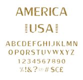font αλφάβητο script χαρακτήρας διανυσματική απεικόνιση