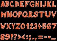 Font Royalty Free Stock Photos