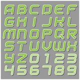 Font Royalty Free Stock Photo