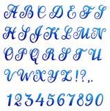 Font banner Stock Photo