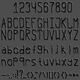 Font Stock Photo