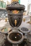 Font de Canaletes - πηγή κατανάλωσης - Ramblas Βαρκελώνη Ισπανία στοκ εικόνα