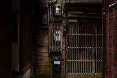 Font Door, Guest House, japanese style - Backgrounds. Backgrounds - Font Door - Guest House - japanese style royalty free stock image