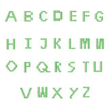 Font green Royalty Free Stock Photos