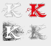 Font K Stock Photos