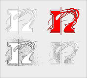 Font N Stock Images