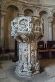 Font in Norwich Cathedral, Norfolk, UK Stock Photography
