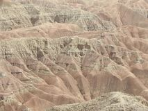Font`s Point Overlooking the Borrego Badlands. In Anza-Borrego Desert State Park, California Stock Photography