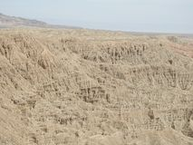 Font`s Point Overlooking the Borrego Badlands. In Anza-Borrego Desert State Park, California Stock Images