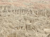 Font`s Point Overlooking the Borrego Badlands. In Anza-Borrego Desert State Park, California Royalty Free Stock Photography