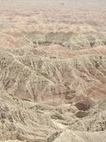 Font`s Point Overlooking the Borrego Badlands. In Anza-Borrego Desert State Park, California Royalty Free Stock Images