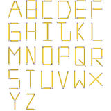 Font Set 2 Royalty Free Stock Image