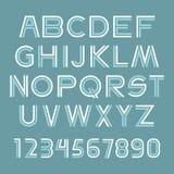 Font set Stock Image