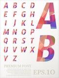Font vector lowpoly design style illusstration eps.10. Font vector lowpoly design style illusstration vector illustration