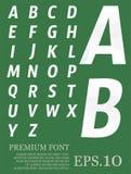 Font vector lowpoly design style illusstration eps.10.  vector illustration