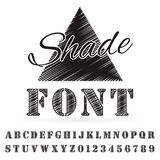 Font Royalty Free Stock Images