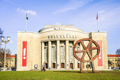Font view of world famous Volksbuehne Theater in Berlin Stock Photography