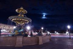 巴黎Fontain协和飞机广场 图库摄影