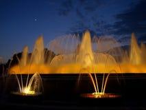 fontain barcelona красивейшее стоковое изображение