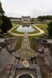 Fontain de château de La Roche Courbon Photographie stock libre de droits