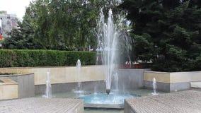 Fontain. Image was shot in Bulgaria beach stock video