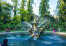 Fontain in Regent's Park Immagini Stock
