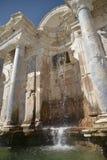 Fontain w Sagalossos, wygłupy miasto Obrazy Stock