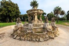 Fontainbernini genoemd Slakkehuis in Villa Doria Pamphili bij via Aurelia Antica royalty-vrije stock foto's