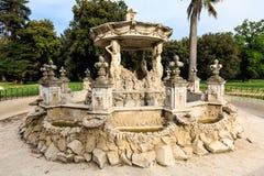 Fontainbernini genoemd Slakkehuis in Villa Doria Pamphili bij via Aurelia Antica royalty-vrije stock foto