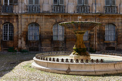 Fontaine à Aix-en-Provence Photo stock