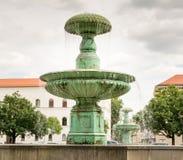 Fontaine à Munich Image stock