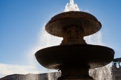 Fontaine à Vatican image stock