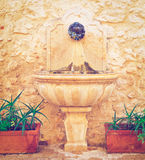 Fontaine photographie stock