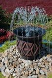 Fontaine. Photo libre de droits