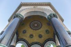 Fontaine allemande dans la place de Sultanahmet Images libres de droits