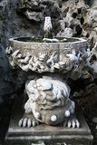 Fontaine antique à Pékin Photo stock