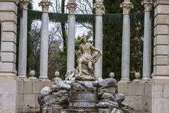 Fontaine Aranjuez, Madrid, site d'Apollo d'héritage de Spain.World par U photos stock