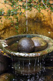 Fontaine artistique photo stock