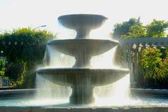 Fontaine au soleil Image libre de droits