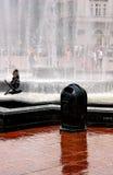 Fontaine avec la colombe Photos libres de droits