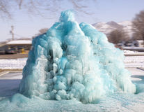 Fontaine bleue dans Vale Orégon Image libre de droits