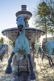 Fontaine célèbre à Scottsdale Arizona Images stock