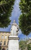 Fontaine célèbre du Roi Rene dans Aix en Provence photo libre de droits