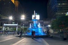 Fontaine carrée Photos stock