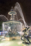 Fontaine carrée de Rossio Photos stock