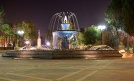 Fontaine carrée de Sabir Images libres de droits