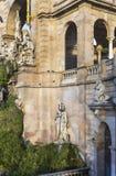 Fontaine Cascada monumental en parc dans la ville de Barcelone Image libre de droits