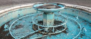 Fontaine cassée Photographie stock libre de droits