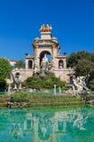 Fontaine chez Parc de la Ciutadella, Barcelone photos stock