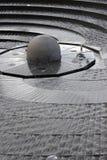 Fontaine circulaire, port chéri Photo libre de droits